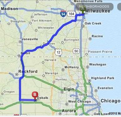 interstate 43 map