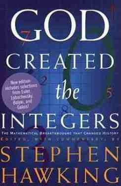 god-created-the-integers math hawking