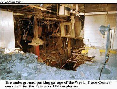 World trade cenetr 1993  3 bombing