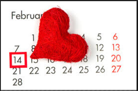 february 14 valentine