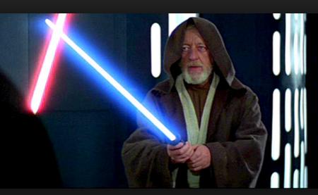 obi wan light saber