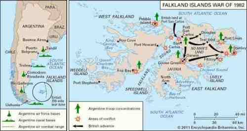 falk islands war