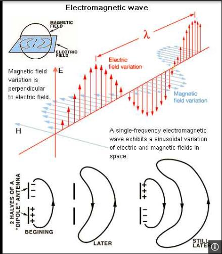 Hertz  wave zwitterion em  electro